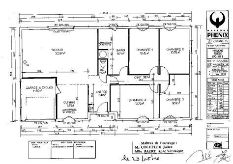 plan de maison gratuit 3 chambres plan de maison 100m2 3 chambres