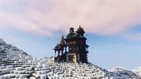 snow cabin minecraft cabin  collections