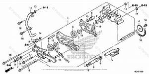 Honda Side By Side 2014 Oem Parts Diagram For Oil Pump