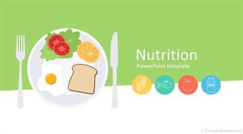 nutrition powerpoint template templateswisecom