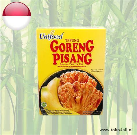 tepung goreng pisang mix 200 gr unifood toko 4 all my philippines