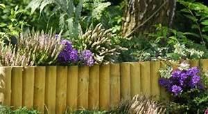 Rondin De Bois Pour Jardin : bordure demi rondin ~ Edinachiropracticcenter.com Idées de Décoration