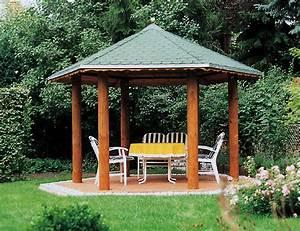 Grill Pavillon Holz : gartenlaube grilllaube und pavillon aus holz offen garden point 6eck 1 kaufen ~ Whattoseeinmadrid.com Haus und Dekorationen