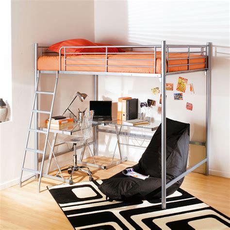 lit mezzanine 2 places avec bureau but bureau idées de
