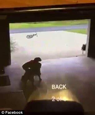 Louisiana Woman Shares Cctv Video Of Little Boy Sneaking