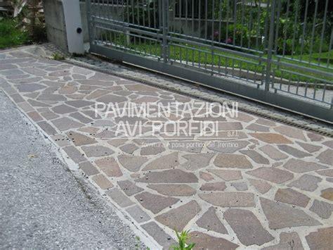 ghiaia per pavimentazioni esterne binderi di porfido
