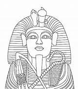 Coloring Egyptian Egypt Sarcophagus Mummy Pharaoh King Coffin Statue Ii Drawing Ramses Children Tut Tutankhamun Tutankhamen Theme Getdrawings Colouring Printable sketch template