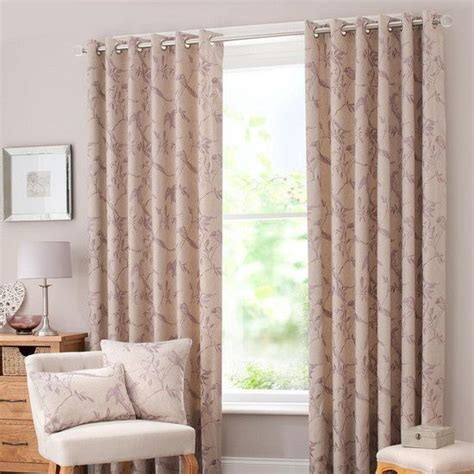 mauve songbird curtain collection dunelm living room