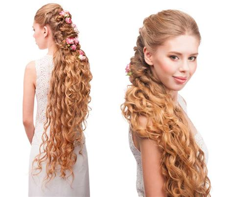 acconciature sposa capelli lunghi  idee bellissime