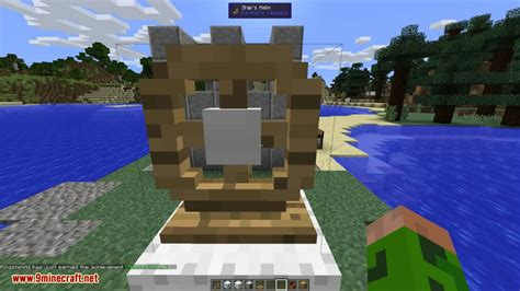 Minecraft Boat Wheel by Davincis Vessels Mod 1 12 2 1 10 2 Moving Your World