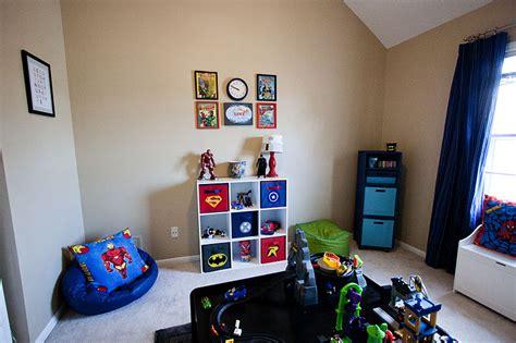 head above water super hero playroom