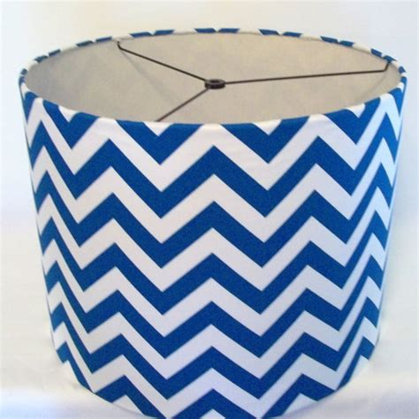 blue and white l shade etsy your place to buy and sell all things handmade
