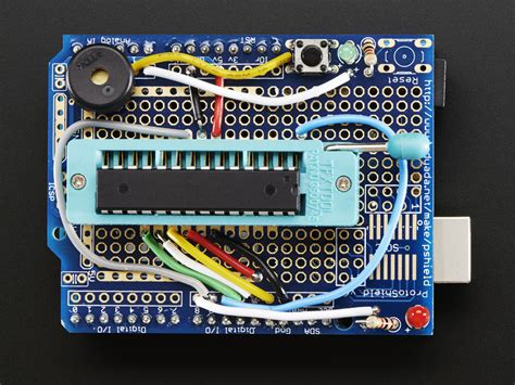Standalone Avr Isp Programmer Shield Kit Includes Blank