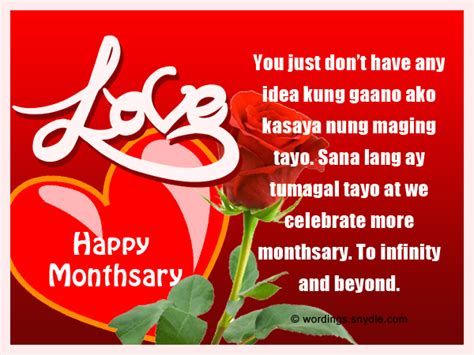 foto de Monthsary Love Letter For Boyfriend Tagalog monthsary