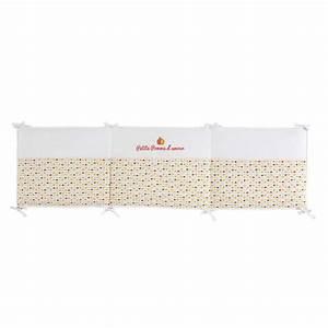 Lit Bébé Maison Du Monde : tour de lit b b en coton 50 x 180 cm louison maisons du monde ~ Teatrodelosmanantiales.com Idées de Décoration
