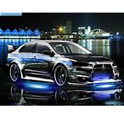 Free Cars HD Wallpapers Mitsubishi Lancer EvoX Tuning Wall