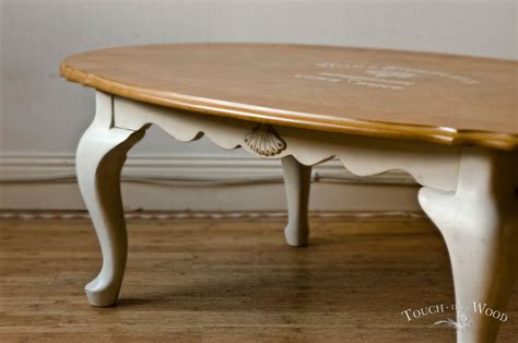 how to shabby chic a coffee table shabby chic oval coffee table no 01 touch the wood