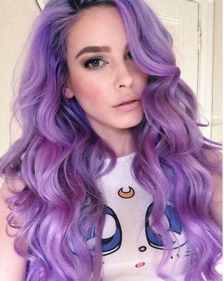top  purple hair dye tips