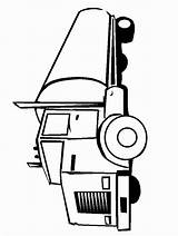 Caboose Train Drawing Coloring Clipartmag sketch template