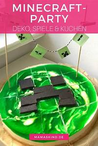 Deko Für Kuchen : minecraft party zum kindergeburtstag mit deko spielen kuchen ~ Buech-reservation.com Haus und Dekorationen