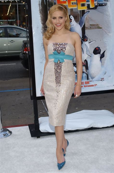 brittany murphy happy feet brittany murphy in quot happy feet quot world premiere 5 of 29