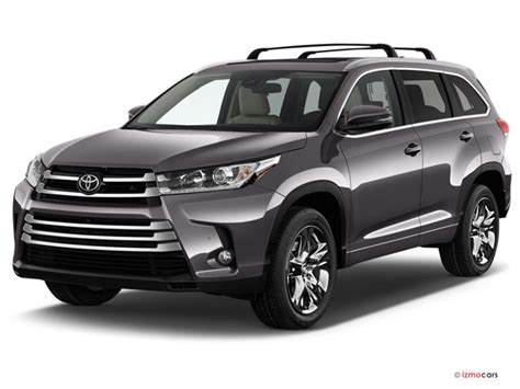 toyota highlander prices reviews  pictures