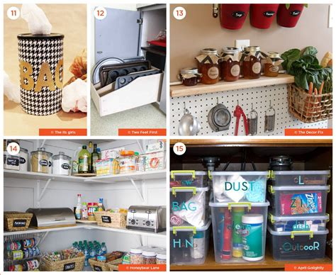 kitchen organization ideas diy 71 diy organization ideas to get your in order 5437