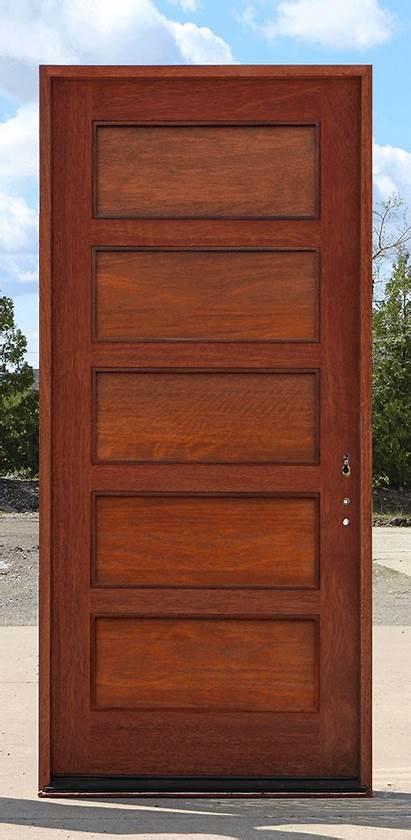 Doors Exterior Door Shaker Wood Entry Solid
