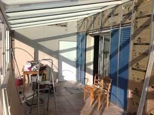 Store De Veranda Interieur : am nagement interieur d 39 une veranda youtube ~ Voncanada.com Idées de Décoration