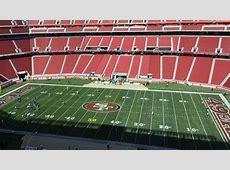 49ersChargers Back to assess the Levi's Stadium field