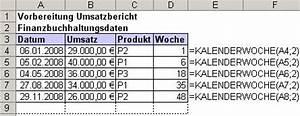 Excel Kalenderwoche Berechnen : bersicht ms excel funktionen kalenderwoche ~ Themetempest.com Abrechnung