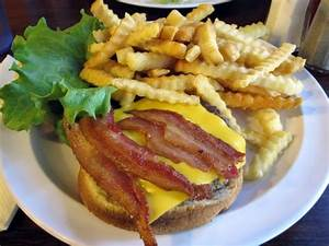 Bacon Cheeseburger and French Fries | Yelp
