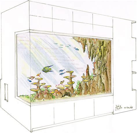 d 233 coration d aquarium biologique grand volume sur et la