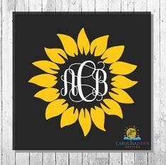 sunflower monogram decal lilly pulitzer  shopsouthmagnolia vinyl monogram monogram decal