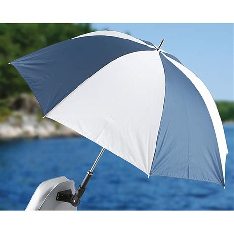 Real Shade Boat Seat Umbrella With Bracket by Reel Shade Umbrella 196137 Boat Seat Accessories At