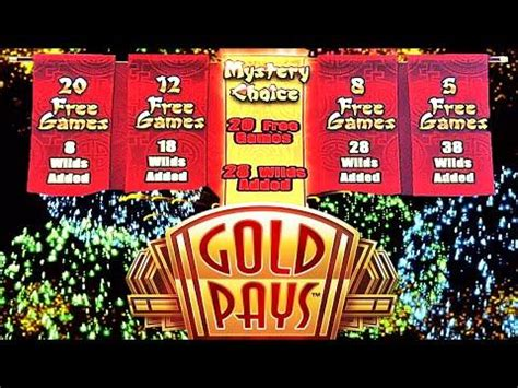 28 Wilds  20 Free Spins  Gold Pays Golden Festival Slot