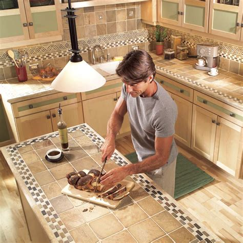Tile Kitchen Countertops by Installing Tile Countertops Ceramic Tile Kitchen