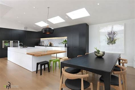 ideas for small kitchen islands kitchen 12 awesome black and white kitchen design ideas