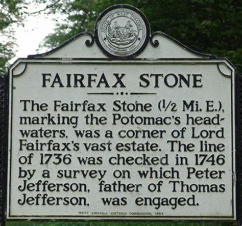 fairfax west virginia historical markers on