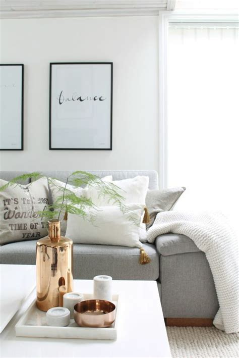 Scandinavian Home Accessories In Gold Make Your Home Shine