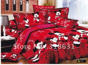 mickey minnie mouse bedding curtains duvet bed auto