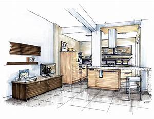 showroom concept in middle east mick ricereto interior With kitchen colors with white cabinets with dessins crayon papier