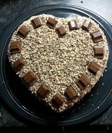 kinderschokolade kuchen rezept kinderschokolade torte rezept in 2019 kuchen s 252 223 es
