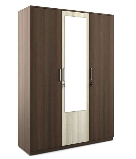 3 Door Wardrobe by Crescent 3 Door Wardrobe Buy At Best Price In