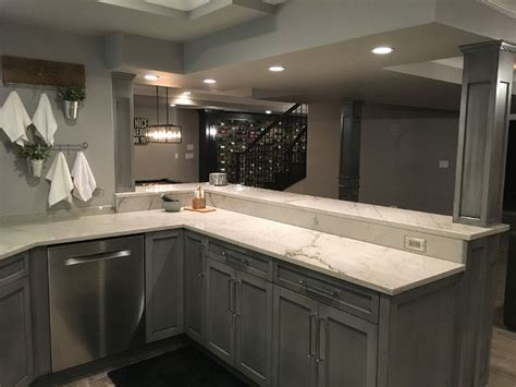 Basement Bar Cabinet Ideas by Grey Bar Cabinet Beautiful Homes Of Instagram Sumhouse