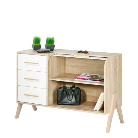 meubles de cuisine vintage meuble d 39 entrée vintage rideau blanc 3 tiroirs blancs simmob