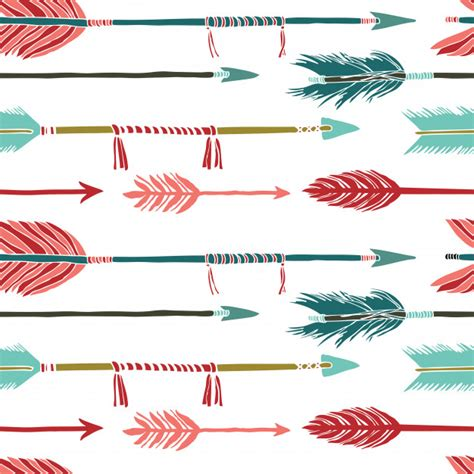 Arrow Background Colorful Arrows Background Vector Free