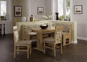 Coin Repas D Angle : coin repas avec banquette d 39 angle silvana beige argent sb meubles discount ~ Teatrodelosmanantiales.com Idées de Décoration