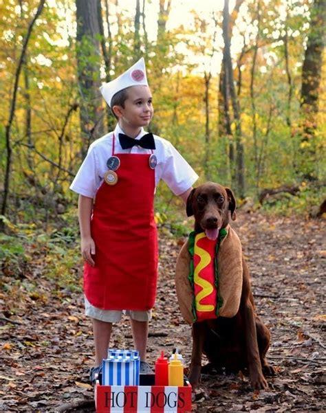 couple hot dog costume 22 halloween costumes every dog dog owner needs brit co