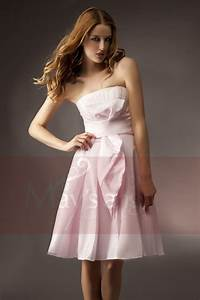 robe bustier rose lomilomifr vetements tendances With robe bustier rose